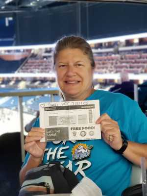 Janet attended Orlando Solar Bears vs. TBD - ECHL - 2019 Kelly Cup Playoffs - Round 1 - Game 1 on Apr 10th 2019 via VetTix