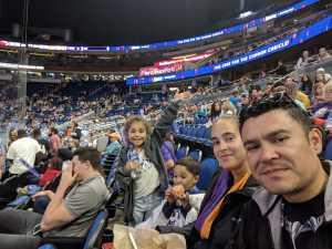 Antonio attended Orlando Solar Bears vs. TBD - ECHL - 2019 Kelly Cup Playoffs - Round 1 - Game 1 on Apr 10th 2019 via VetTix