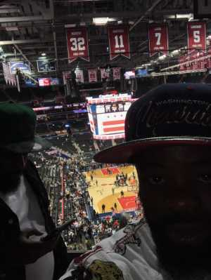 derick attended Washington Wizards vs. Boston Celtics - NBA on Apr 9th 2019 via VetTix