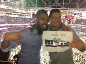 Reese  attended Washington Wizards vs. Boston Celtics - NBA on Apr 9th 2019 via VetTix