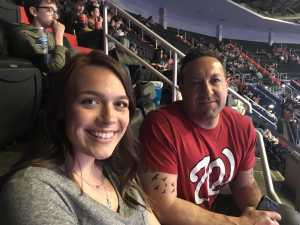Kelby attended Washington Wizards vs. Boston Celtics - NBA on Apr 9th 2019 via VetTix
