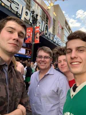 Michael attended Washington Wizards vs. Boston Celtics - NBA on Apr 9th 2019 via VetTix
