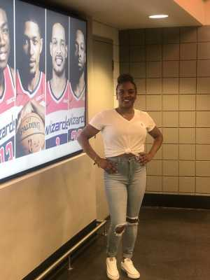 Kendra attended Washington Wizards vs. Boston Celtics - NBA on Apr 9th 2019 via VetTix