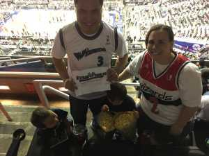 Ian attended Washington Wizards vs. Boston Celtics - NBA on Apr 9th 2019 via VetTix