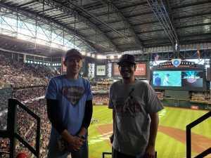 Dick attended Arizona Diamondbacks vs. Boston Red Sox - MLB on Apr 5th 2019 via VetTix