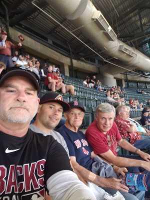 Jordan attended Arizona Diamondbacks vs. Boston Red Sox - MLB on Apr 5th 2019 via VetTix