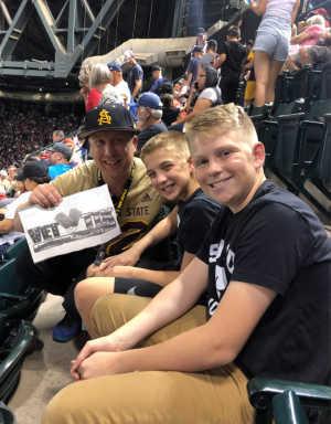 Bradlee attended Arizona Diamondbacks vs. Boston Red Sox - MLB on Apr 5th 2019 via VetTix