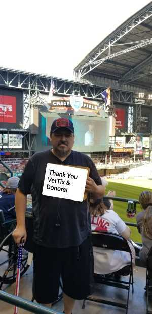 Ralph attended Arizona Diamondbacks vs. Boston Red Sox - MLB on Apr 5th 2019 via VetTix