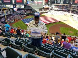 Ronald attended Arizona Diamondbacks vs. Boston Red Sox - MLB on Apr 5th 2019 via VetTix