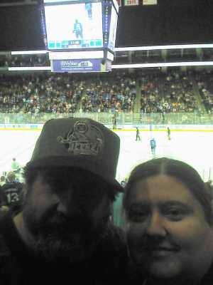 Shaunee  attended Jacksonville Icemen vs. TBD - ECHL - 2019 Kelly Cup Playoffs - Game 4 on Apr 19th 2019 via VetTix