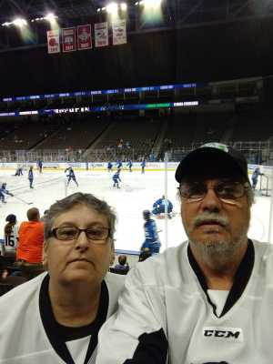 Ronald attended Jacksonville Icemen vs. TBD - ECHL - 2019 Kelly Cup Playoffs - Game 4 on Apr 19th 2019 via VetTix