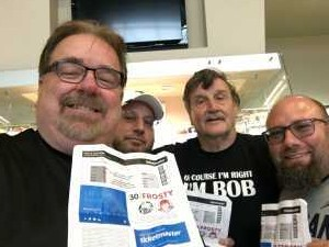 Jim  attended Jacksonville Icemen vs. TBD - ECHL - 2019 Kelly Cup Playoffs - Game 4 on Apr 19th 2019 via VetTix