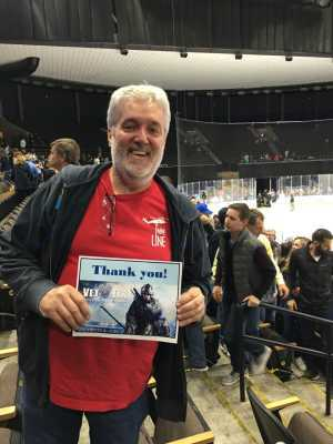 William attended Jacksonville Icemen vs. TBD - ECHL - 2019 Kelly Cup Playoffs - Game 4 on Apr 19th 2019 via VetTix