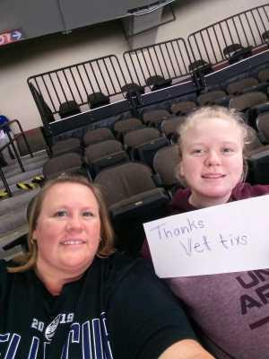 Joshua attended Jacksonville Icemen vs. TBD - ECHL - 2019 Kelly Cup Playoffs - Game 4 on Apr 19th 2019 via VetTix