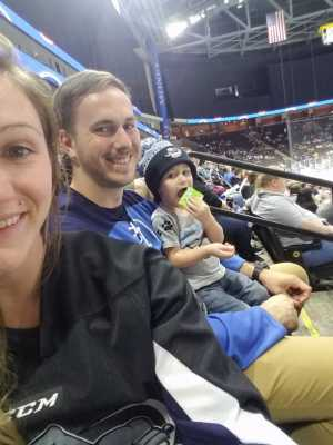 Cody attended Jacksonville Icemen vs. TBD - ECHL - 2019 Kelly Cup Playoffs - Game 4 on Apr 19th 2019 via VetTix