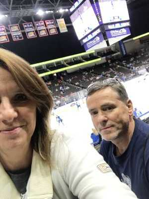 Patrick attended Jacksonville Icemen vs. TBD - ECHL - 2019 Kelly Cup Playoffs - Game 4 on Apr 19th 2019 via VetTix