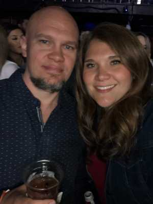 Nicole attended Brett Eldredge on Apr 13th 2019 via VetTix