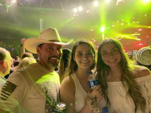Clifford attended Brett Eldredge on Apr 13th 2019 via VetTix
