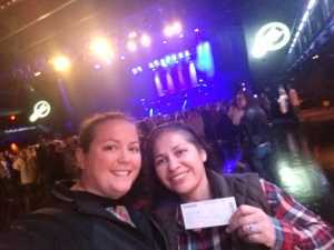 Rosa attended Brett Eldredge on Apr 13th 2019 via VetTix