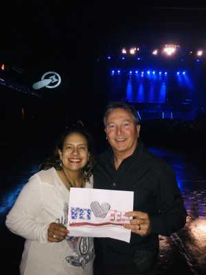 Craig attended Brett Eldredge on Apr 13th 2019 via VetTix