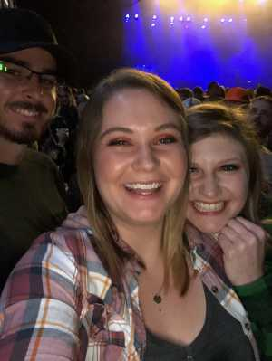 Dillon attended Brett Eldredge on Apr 13th 2019 via VetTix