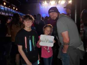 David attended Brett Eldredge on Apr 13th 2019 via VetTix