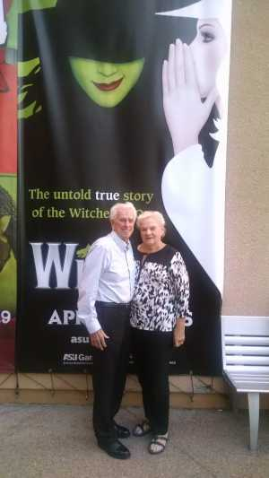 Lloyd Shipman attended Wicked - 5th Annual Operation Date Night - Includes Gift Card for Dinner Before the Show on Apr 10th 2019 via VetTix