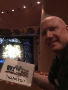Roger attended Wicked - 5th Annual Operation Date Night - Includes Gift Card for Dinner Before the Show on Apr 10th 2019 via VetTix