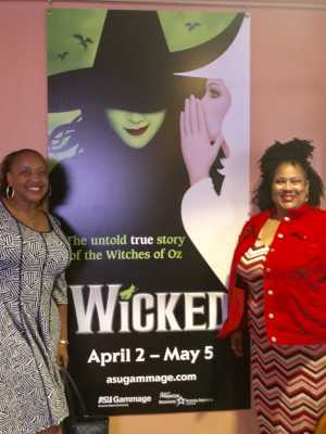 OCTAVIA attended Wicked - 5th Annual Operation Date Night - Includes Gift Card for Dinner Before the Show on Apr 10th 2019 via VetTix