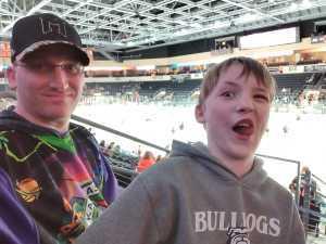 Terry attended Kansas City Mavericks Playoffs Rnd 1 Game 2 - ECHL on Apr 19th 2019 via VetTix