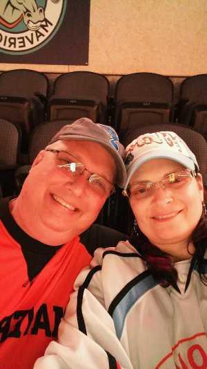 James attended Kansas City Mavericks Playoffs Rnd 1 Game 2 - ECHL on Apr 19th 2019 via VetTix