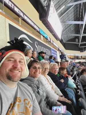 Derek attended Kansas City Mavericks Playoffs Rnd 1 Game 2 - ECHL on Apr 19th 2019 via VetTix