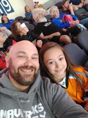 Derrick attended Kansas City Mavericks vs. Tulsa Oilers - Playoffs Rnd 1 Game 3 - ECHL on Apr 20th 2019 via VetTix