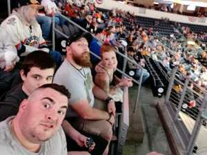 Sean attended Kansas City Mavericks vs. Tulsa Oilers - Playoffs Rnd 1 Game 3 - ECHL on Apr 20th 2019 via VetTix