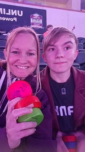 Aubrey attended Kansas City Mavericks vs. Tulsa Oilers - Playoffs Rnd 1 Game 3 - ECHL on Apr 20th 2019 via VetTix