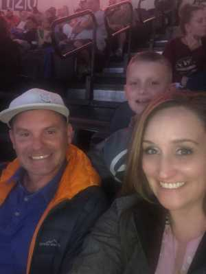 LISA attended Kansas City Mavericks vs. Tulsa Oilers - Playoffs Rnd 1 Game 3 - ECHL on Apr 20th 2019 via VetTix