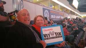 Jim & Helen attended Kansas City Mavericks vs. Tulsa Oilers - Playoffs Rnd 1 Game 3 - ECHL on Apr 20th 2019 via VetTix