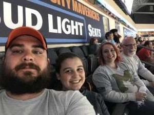 Michael attended Kansas City Mavericks vs. Tulsa Oilers - Playoffs Rnd 1 Game 3 - ECHL on Apr 20th 2019 via VetTix