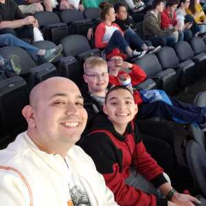 Brandon  attended Kansas City Mavericks vs. Tulsa Oilers - Playoffs Rnd 1 Game 3 - ECHL on Apr 20th 2019 via VetTix