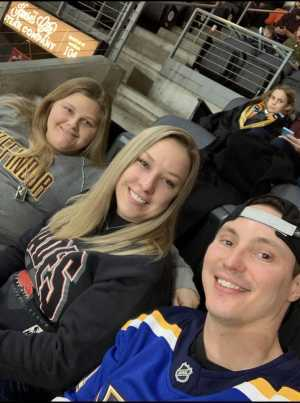 Amber attended Kansas City Mavericks vs. Tulsa Oilers - Playoffs Rnd 1 Game 3 - ECHL on Apr 20th 2019 via VetTix
