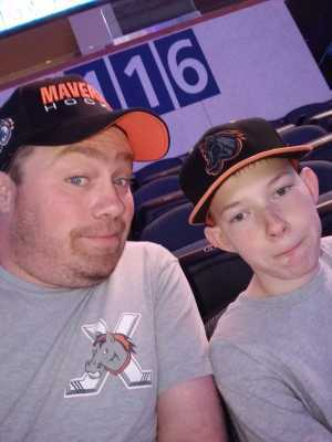 Dean  attended Kansas City Mavericks vs. Tulsa Oilers - Playoffs Rnd 1 Game 3 - ECHL on Apr 20th 2019 via VetTix