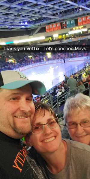 Derek attended Kansas City Mavericks vs. Tulsa Oilers - Playoffs Rnd 1 Game 3 - ECHL on Apr 20th 2019 via VetTix
