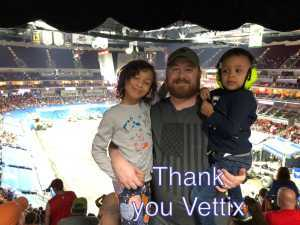 Tony attended Monster Jam on Apr 19th 2019 via VetTix