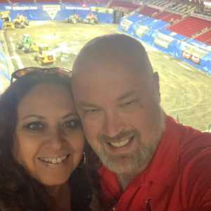 Darin attended Monster Jam on Apr 19th 2019 via VetTix