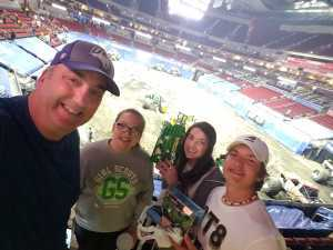 John attended Monster Jam on Apr 19th 2019 via VetTix