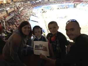 Josh attended Monster Jam on Apr 19th 2019 via VetTix