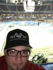 Stephen attended Monster Jam on Apr 19th 2019 via VetTix