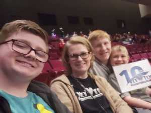 Heath attended B - the Underwater Bubble Show - Miscellaneous Theatre on Apr 28th 2019 via VetTix
