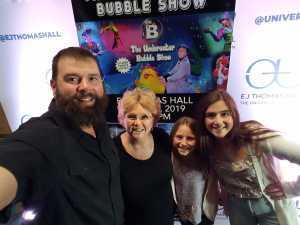 Joel  attended B - the Underwater Bubble Show - Miscellaneous Theatre on Apr 28th 2019 via VetTix