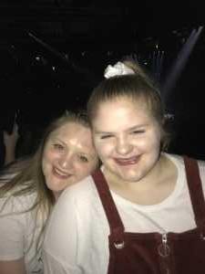 christina attended B - the Underwater Bubble Show - Miscellaneous Theatre on Apr 28th 2019 via VetTix